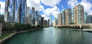 riverfront of chicago